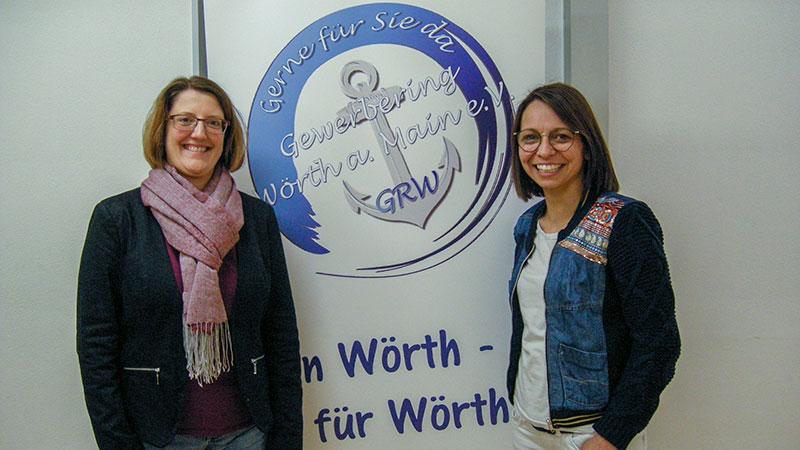 Carolin Straub (l) und Melanie Reis Pachero (r)