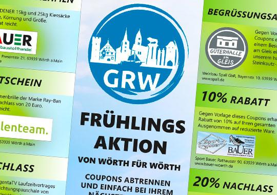 GRW Frühlingsaktion 2019